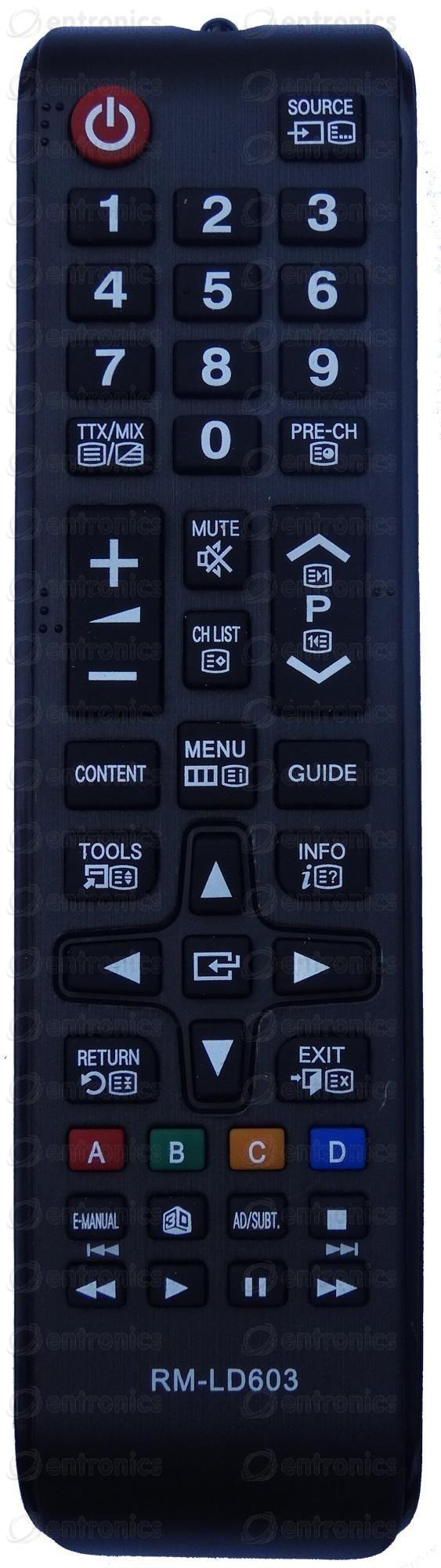 Дистанционно управление SAMSUNG AA59-00603A = RM-LD603