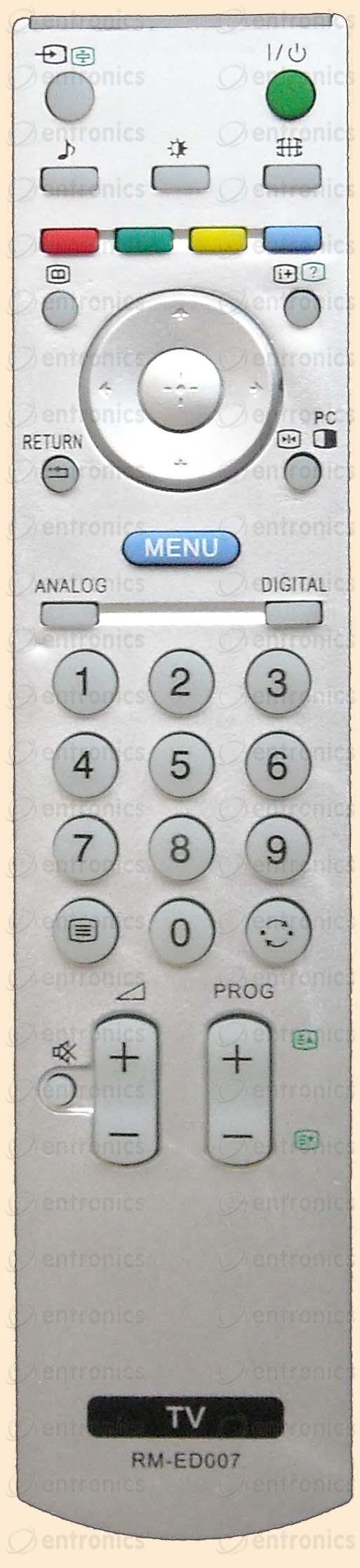 Дистанционно управление SONY RM-ED007