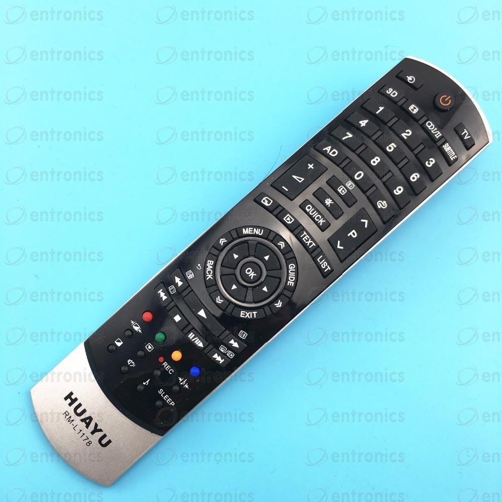 Дистанционно управление TOSHIBA RM-L1178 3D = CT-90404 = CT-90405
