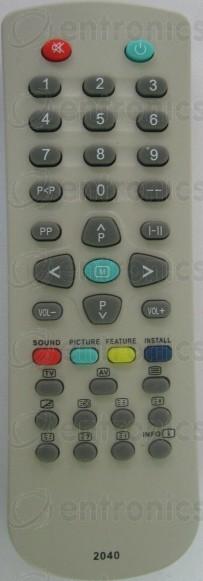 Дистанционно управление VESTEL 2040 mini